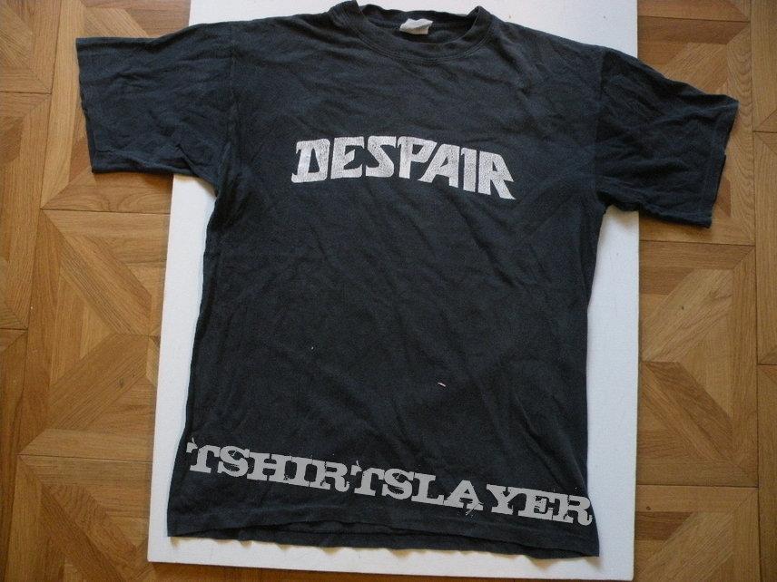 Despair- Crossed in sorrow 1992 tourshirt