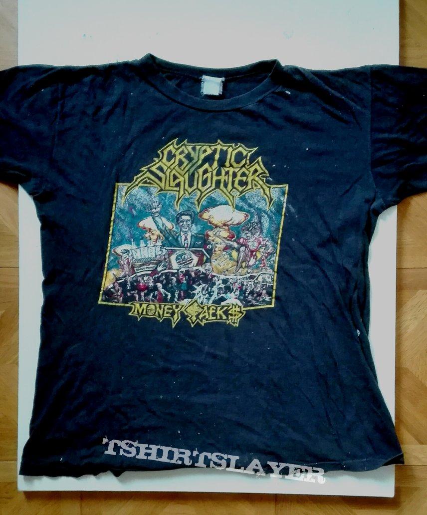 Cryptic Slaughter- Money talks shirt