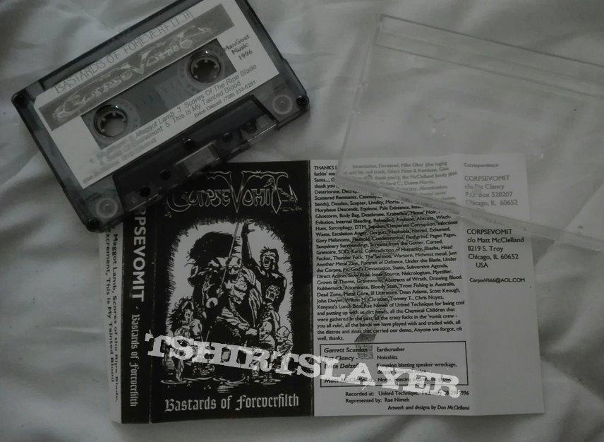 original Corpsevomit- Bastards of foreverfilth demo