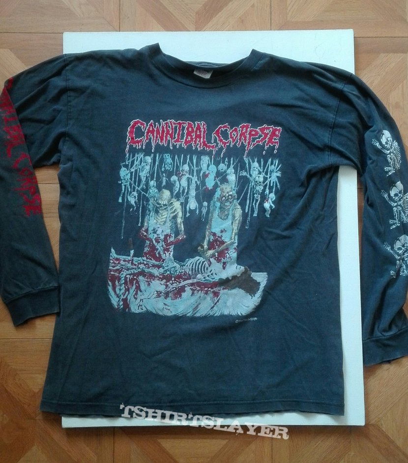Cannibal Corpse- Butchered at birth longsleeve