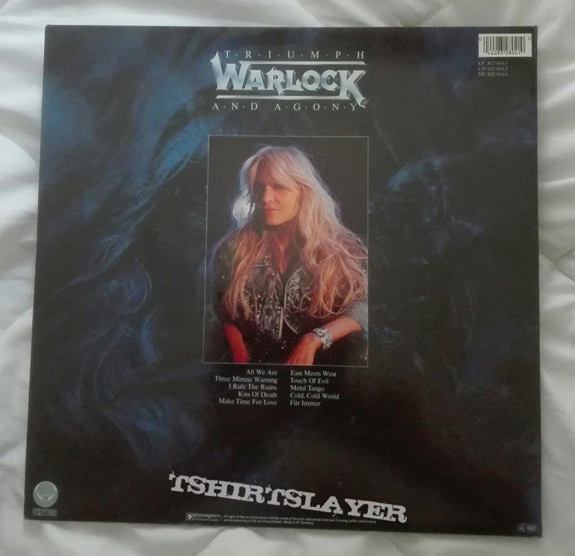 Warlock- Triumph and agony lp