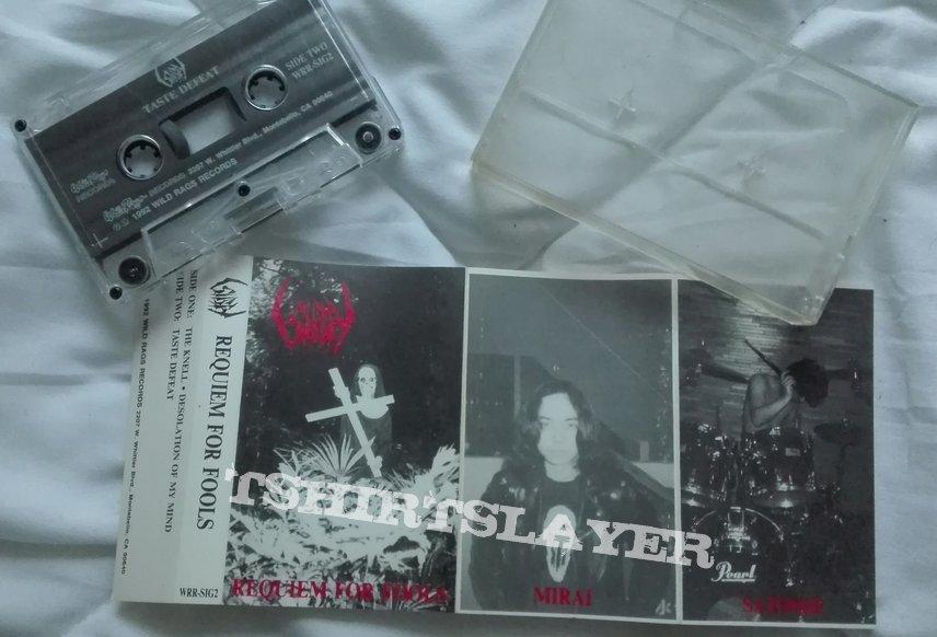 original Sigh- Requiem for fools cassette EP