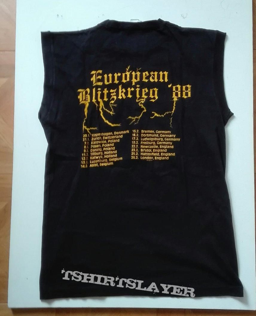 European Blitzkrieg '88 tourshirt