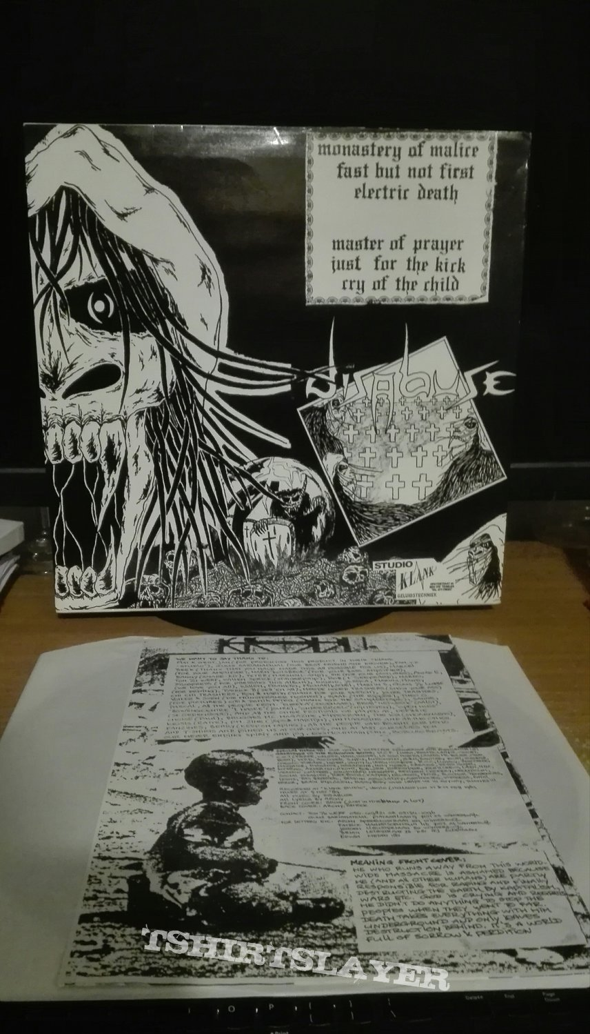 Disabuse- Sorrow and perdition lp