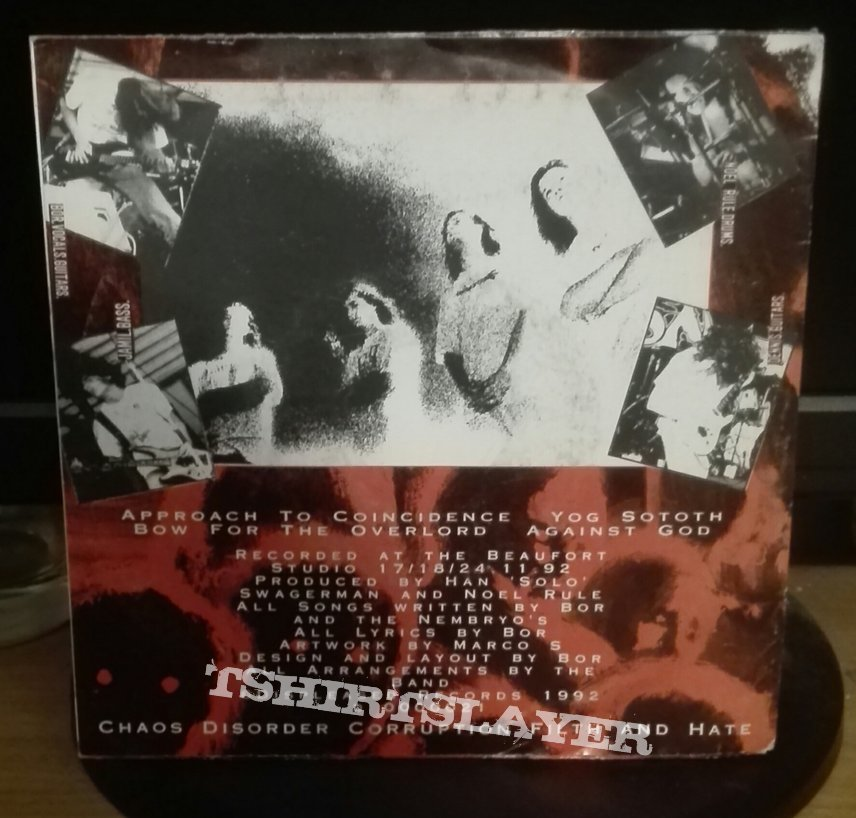 """Nembrionic Hammerdeath- Themes on an occult theory 7"""""""