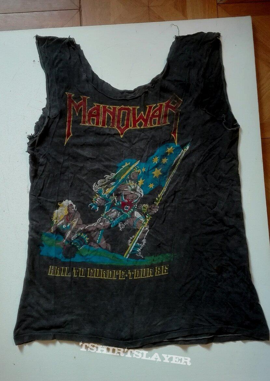 Manowar- Hail to England tourshirt