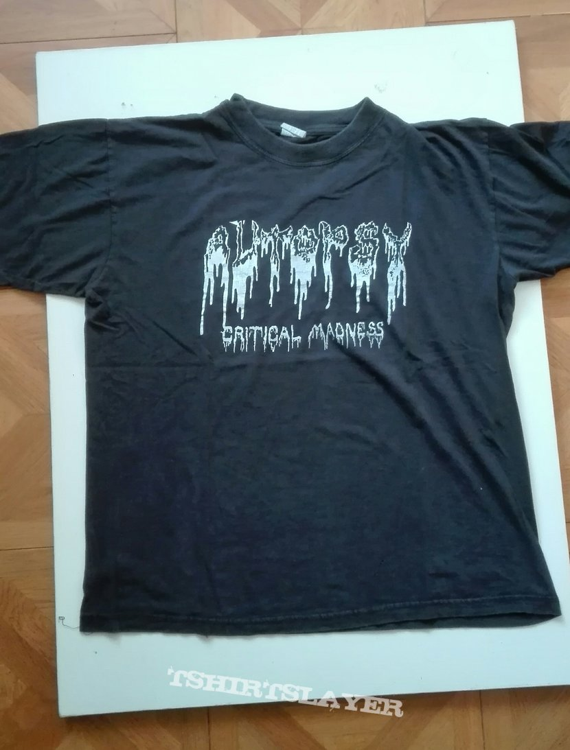 Autopsy- Critical madness shirt
