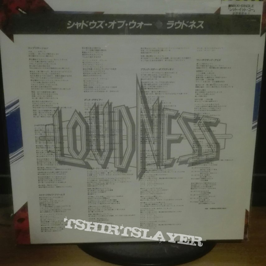 Loudness Shadows of war lp