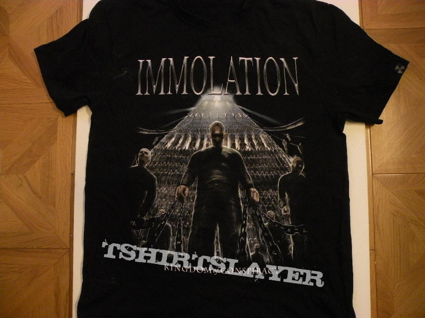 Immolation- Kingdom of conspiracy shirt