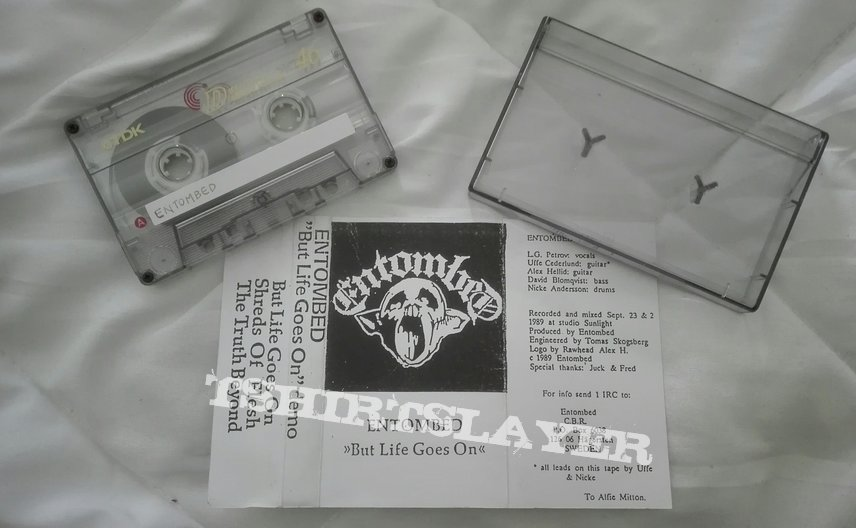 Entombed- But life goes on demo