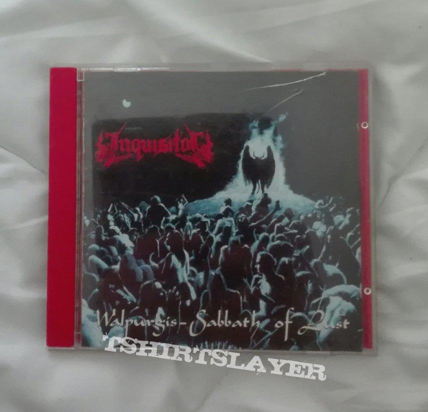 signed Inquisitor- Walpurgis: Sabbath of lust cd