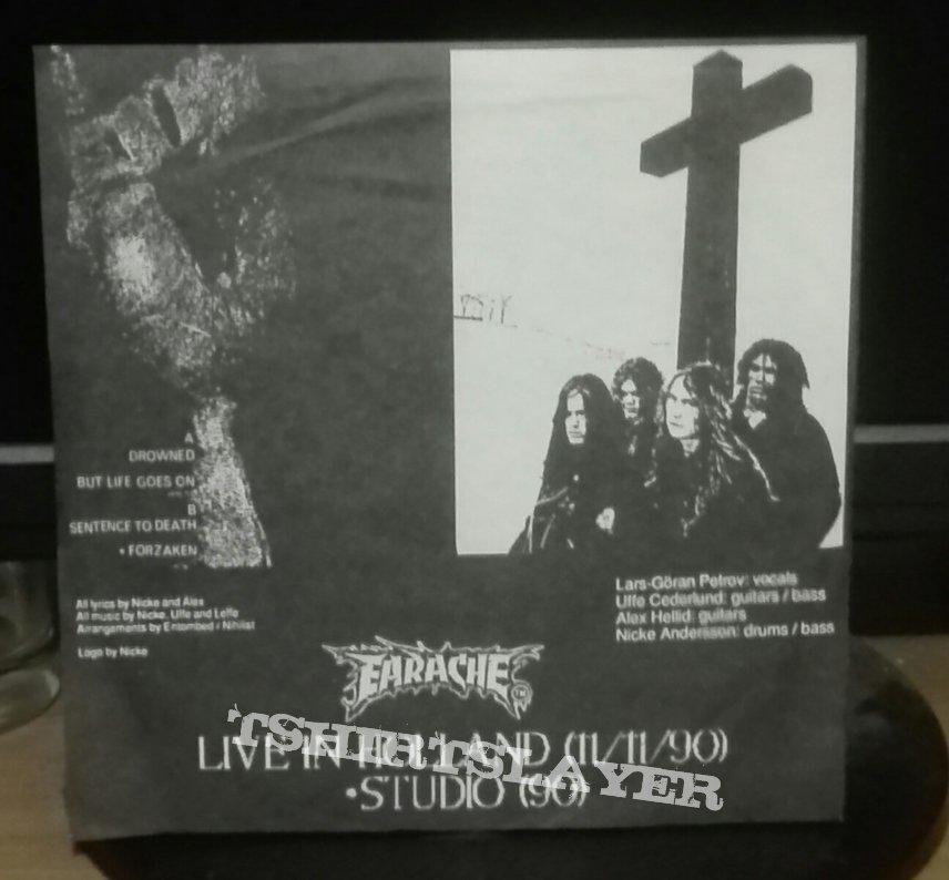 "Entombed- Live!  bootleg 7"""