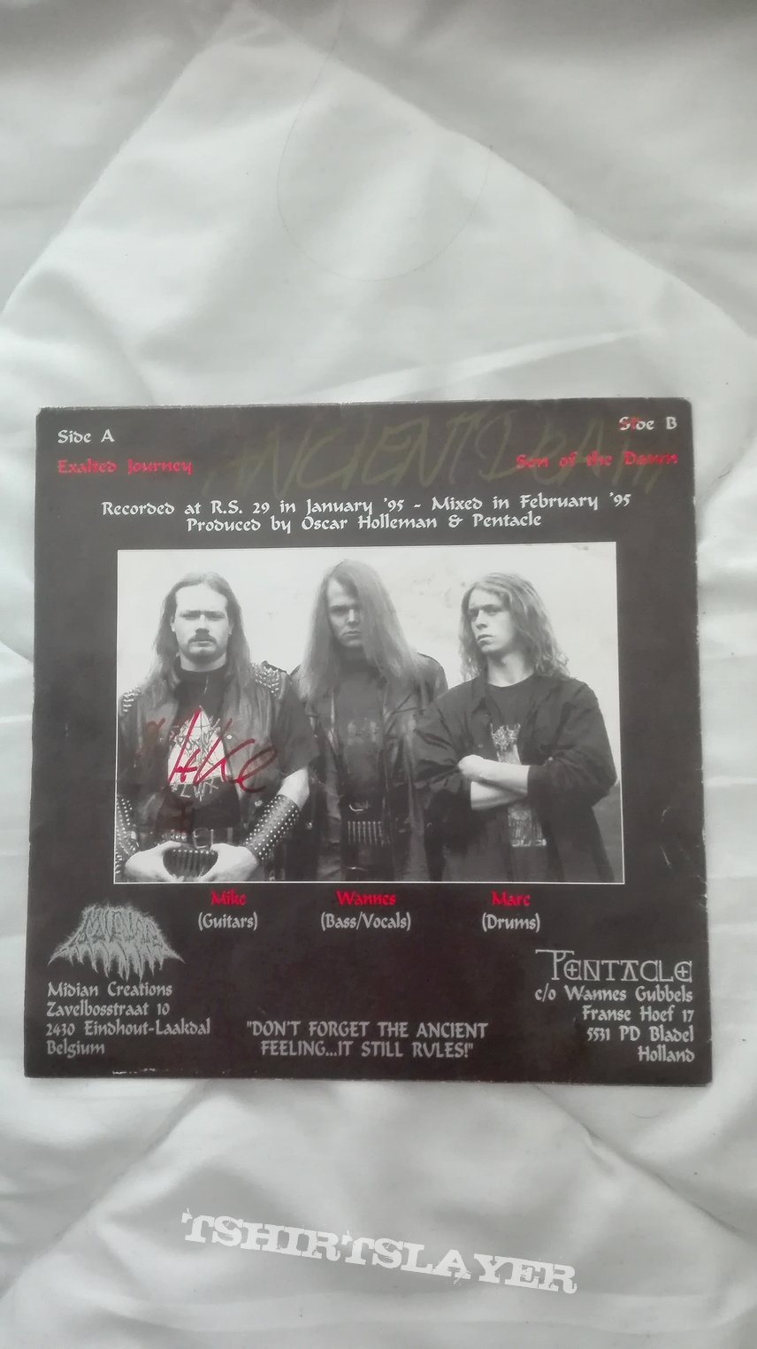 """signed Pentacle- Exalted journey 7"""""""