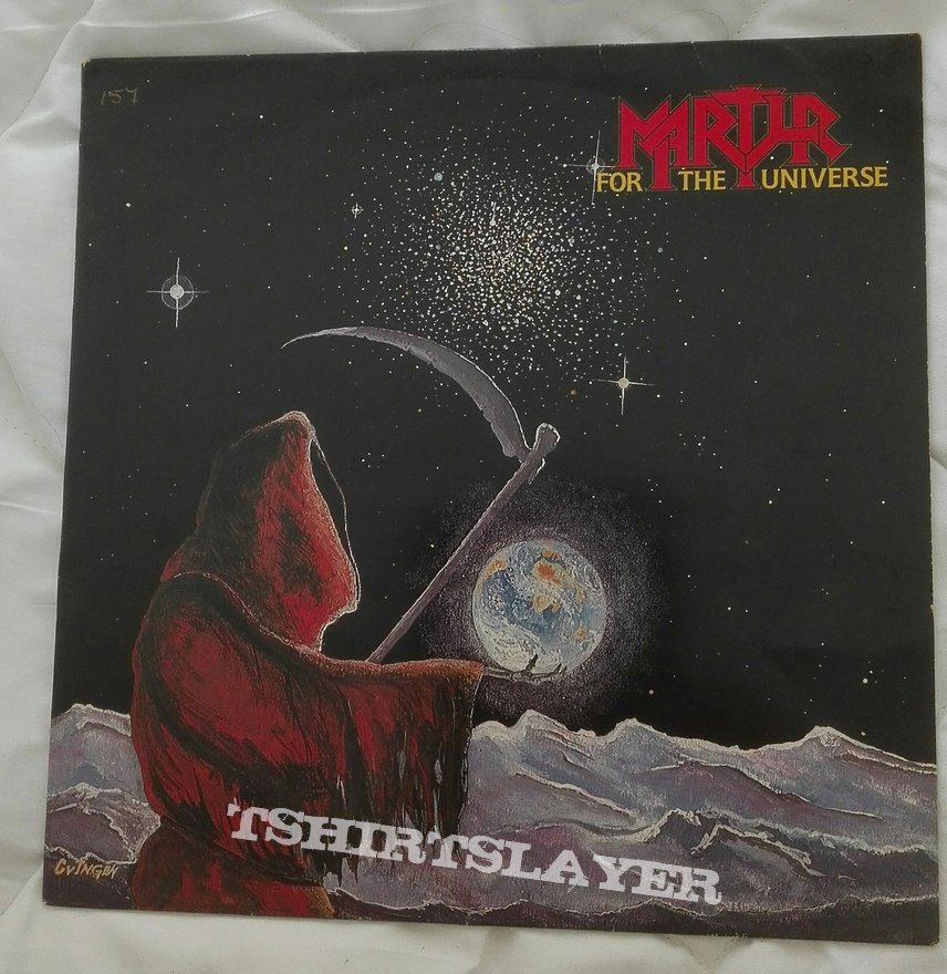 Martyr- For the universe lp