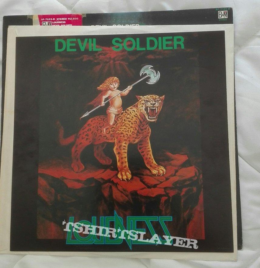 Loudness- Devil soldier lp