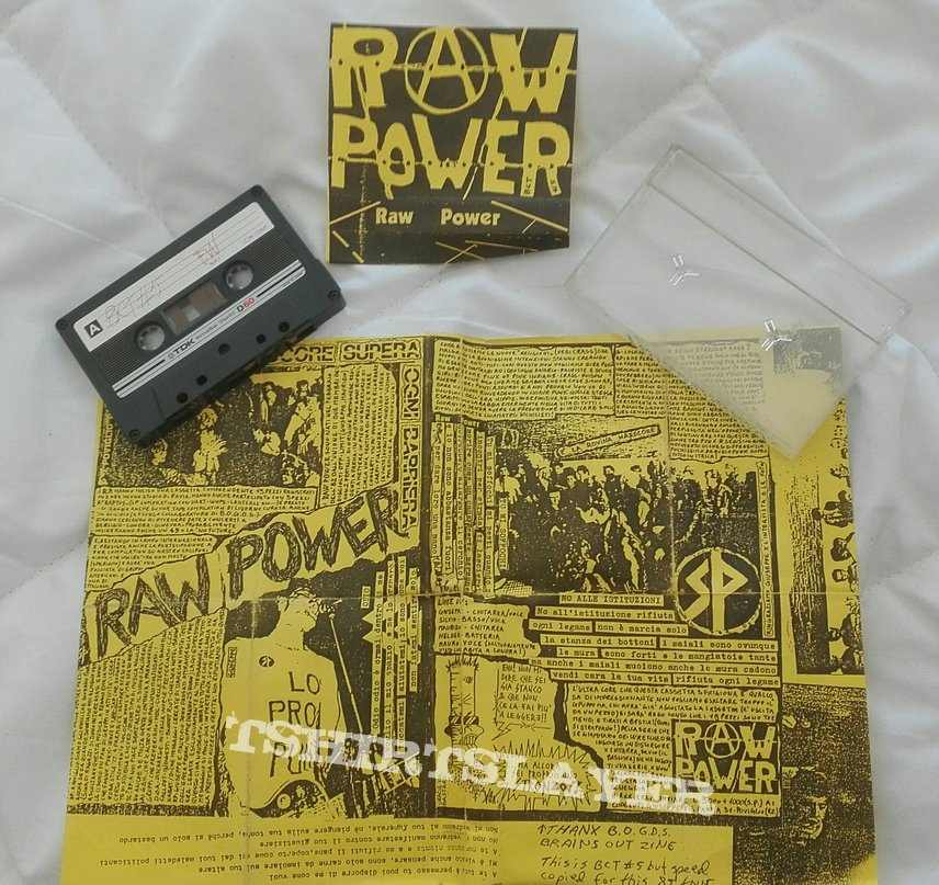 Raw Power tape