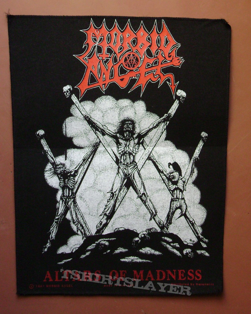 Morbid Angel backpatch
