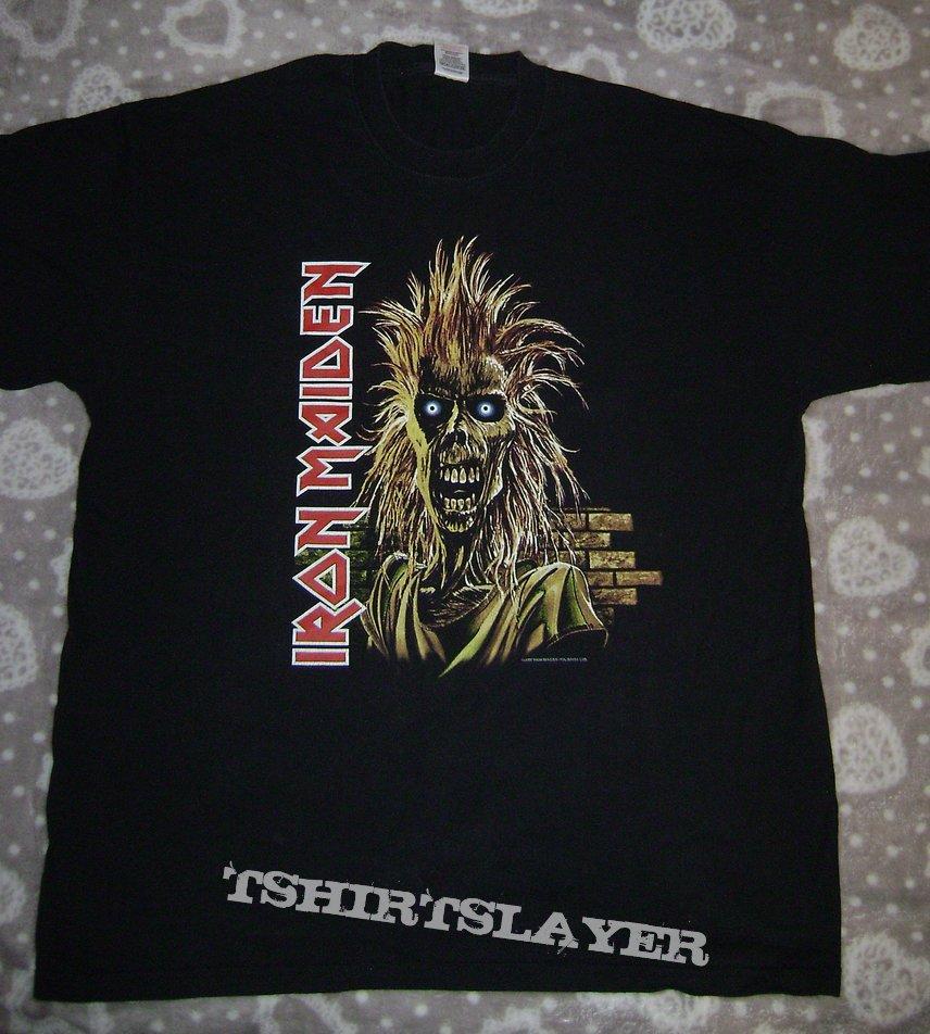 Iron Maiden tour shirt 2005