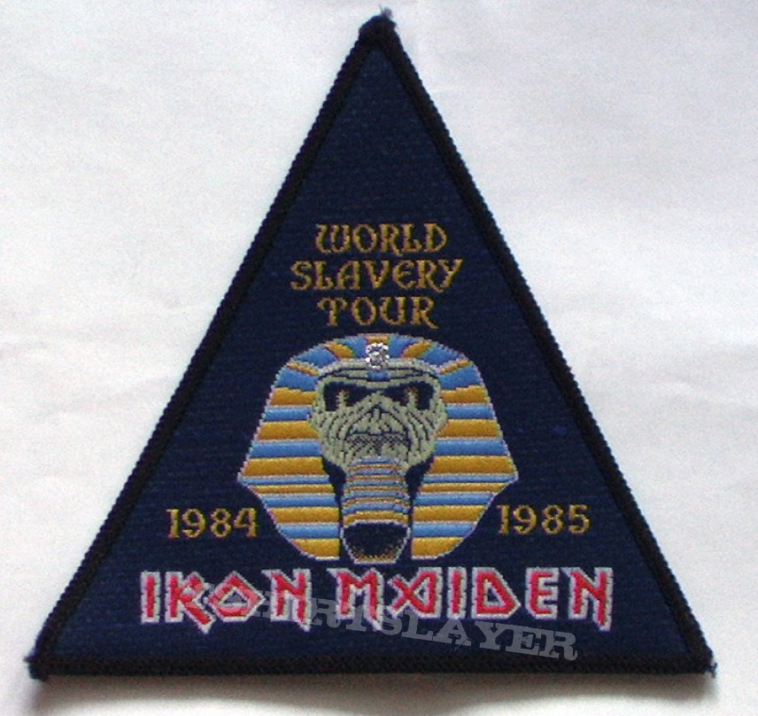 Patch - Iron Maiden triangle tour patch