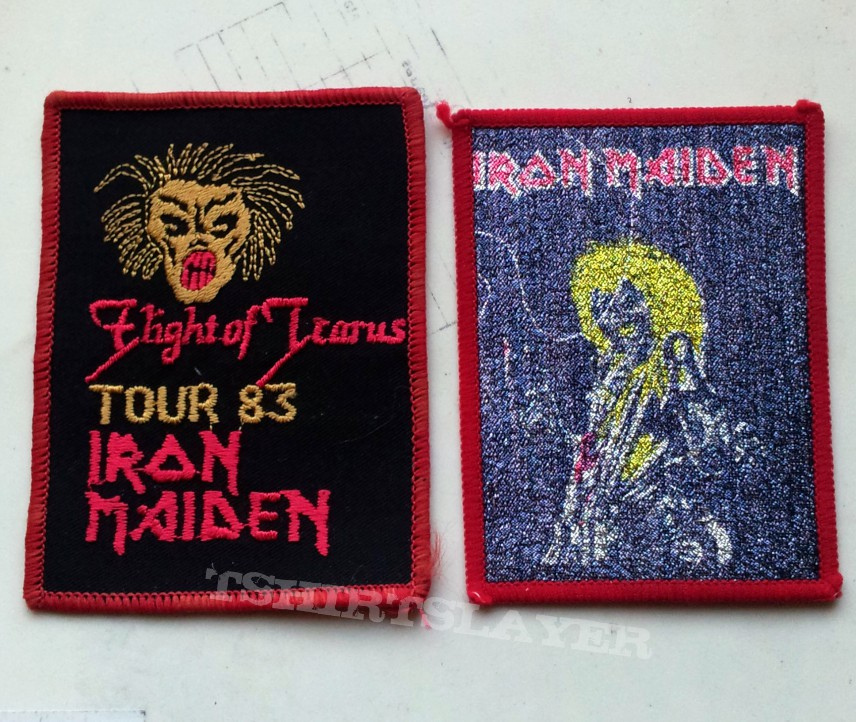 Iron Maiden vintage patches