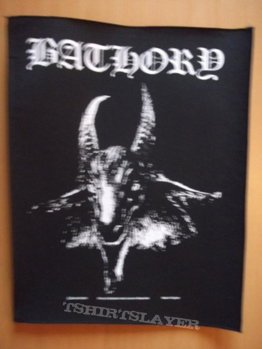 Bathory official backpatch (c) 2001