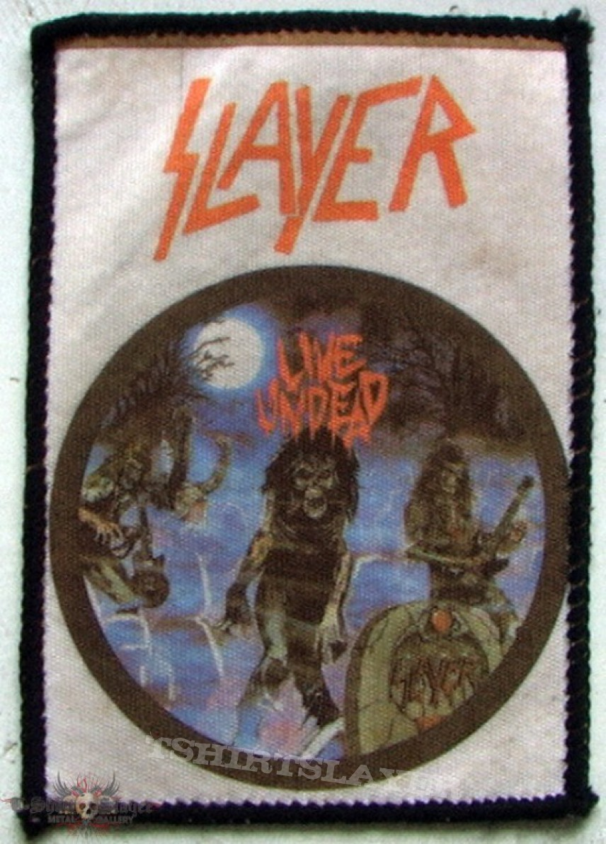 Patch - Vintage Slayer printed patch