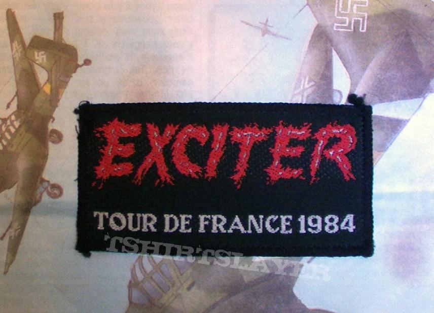 Patch - Exciter Tour de France 1984 vintage patch