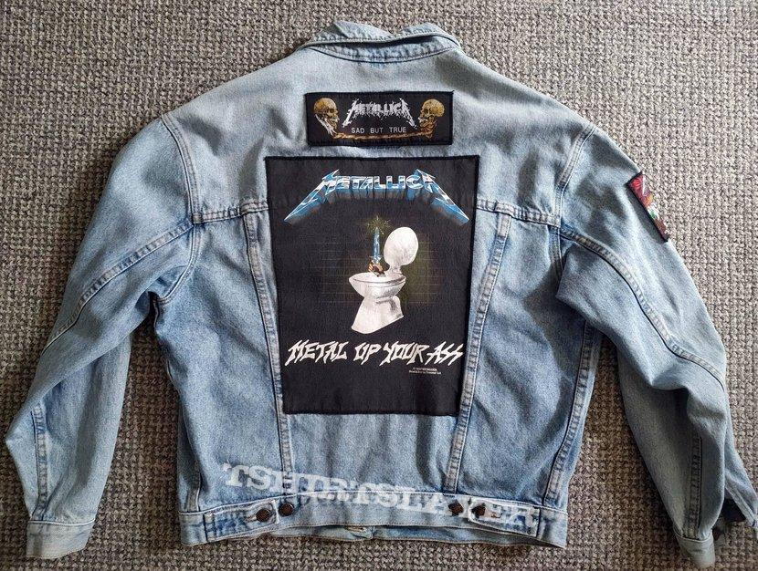 Metallica vintage jeans jacket