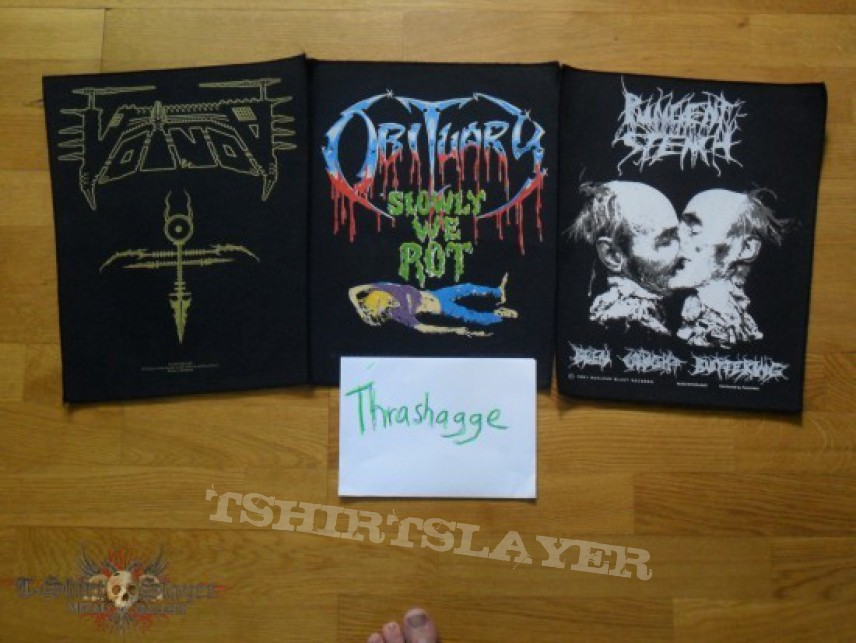 Patch - Backpatches Autopsy,Pungent Stench,Obituary,Voivod etc