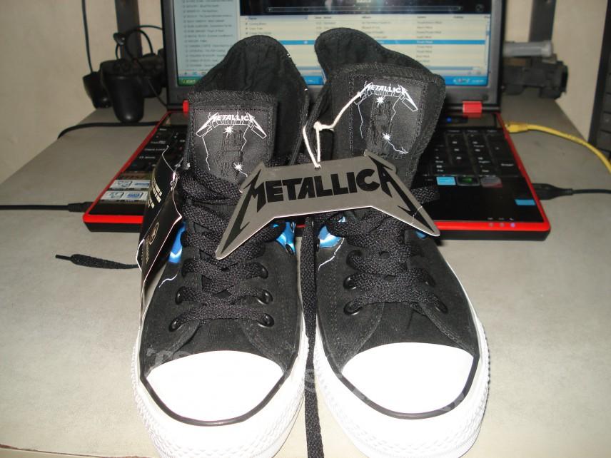 47dc033b79f20c Metallica - Ride the Lightning Converse Chuck Taylor shoes ...