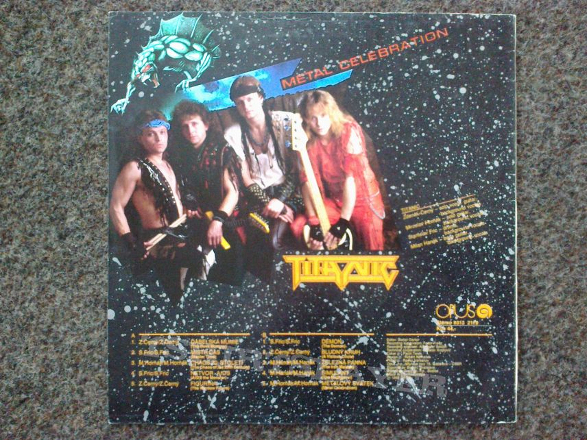 Titanic - Metal Celebration LP