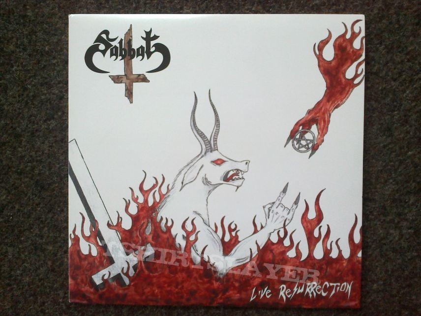 Sabbat - Live Resurrection LP