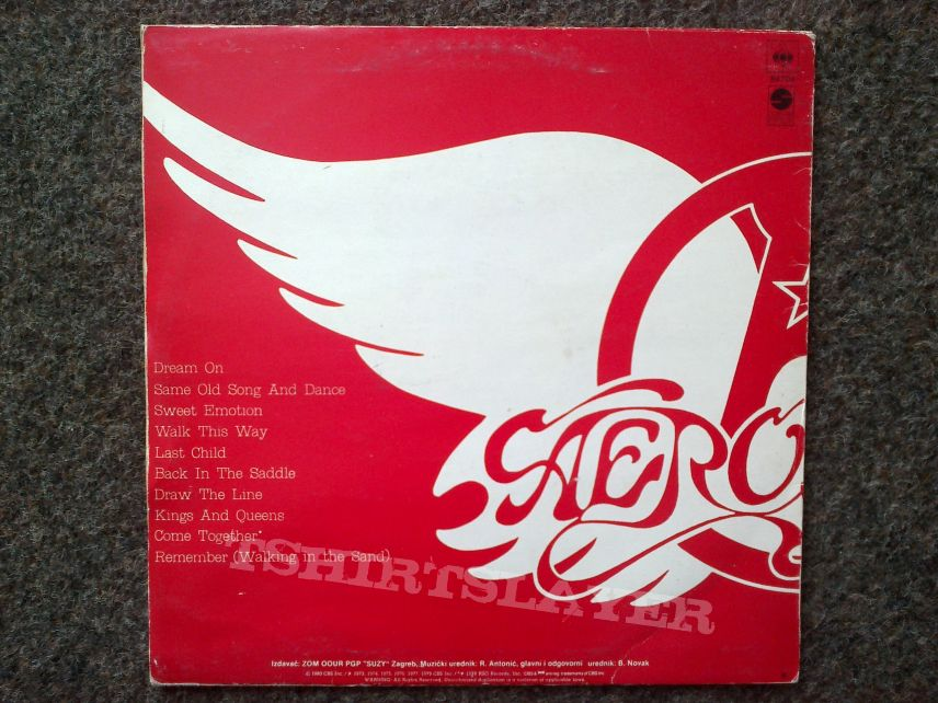 Aerosmith - Greatest Hits LP