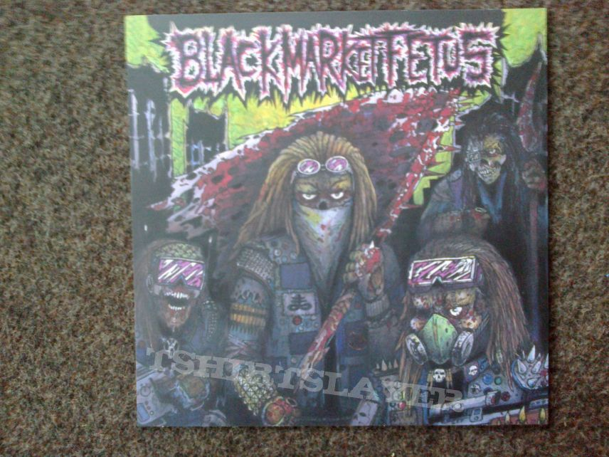 Radiolokator + Black Market Fetus - Chilli and Thrash Attack Split LP