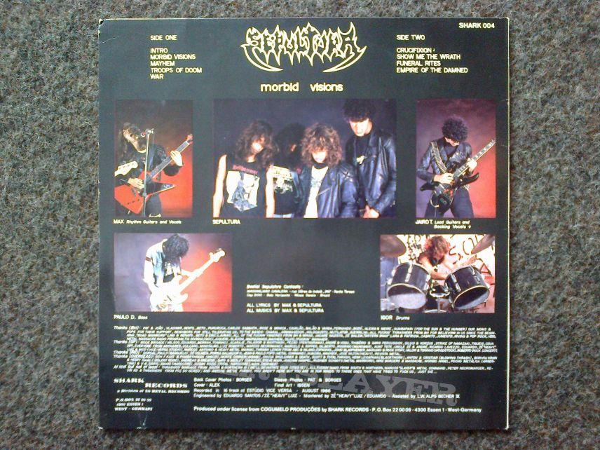 Sepultura - Morbid Visions LP