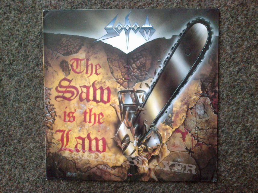 Sodom - The Saw is the Law LP