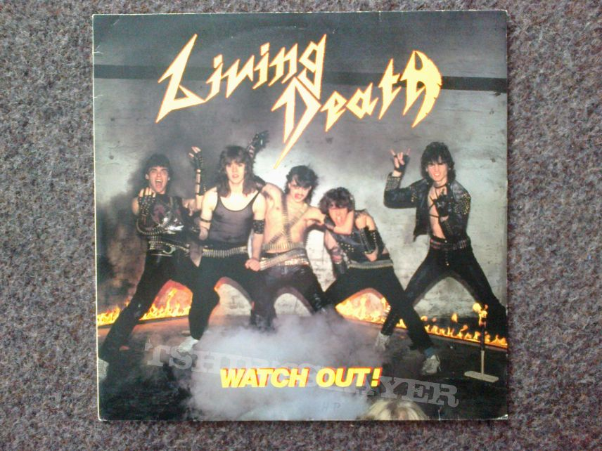 Living Death - Watch Out! LP