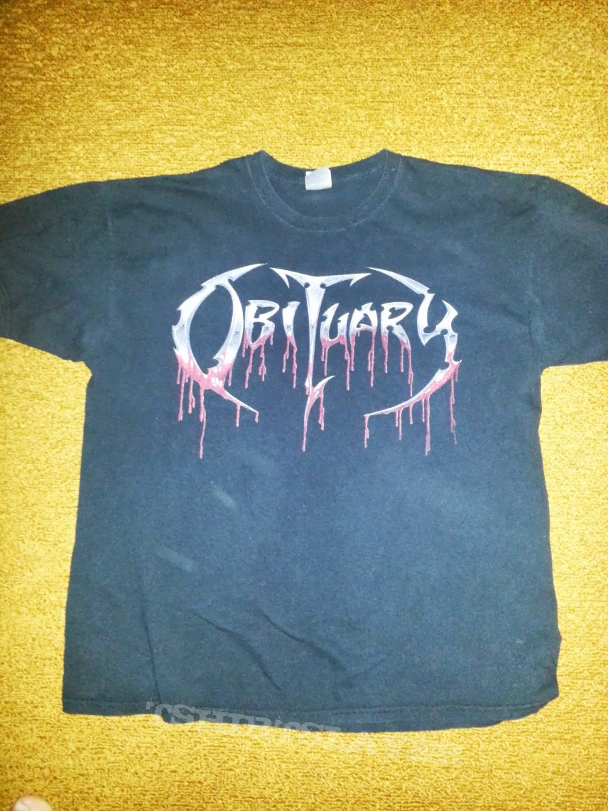 TShirt or Longsleeve - Obituary shirt