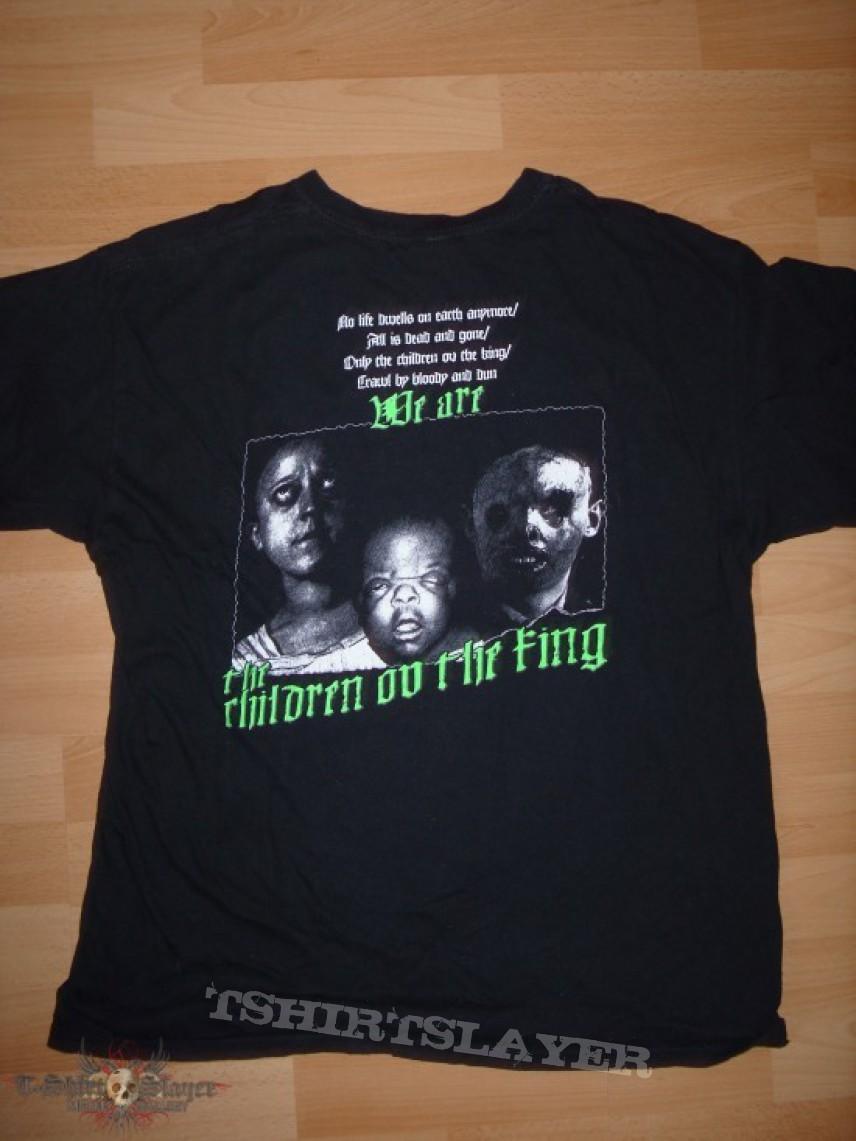 Satan's Revenge On Mankind - Children Ov The King T-Shirt - RARE!!