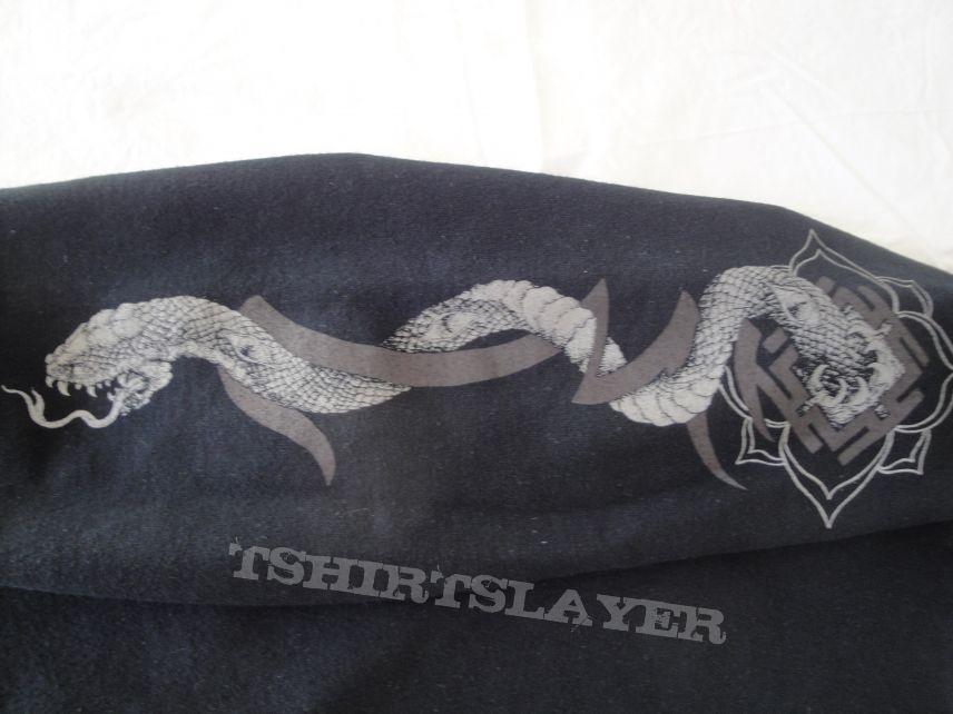 """Witchrist """"Death Mantra"""" Hooded Zipper Sweatshirt"""