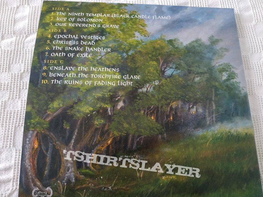 "Crypt Sermon ""The ruins of fading light"" vinyl"