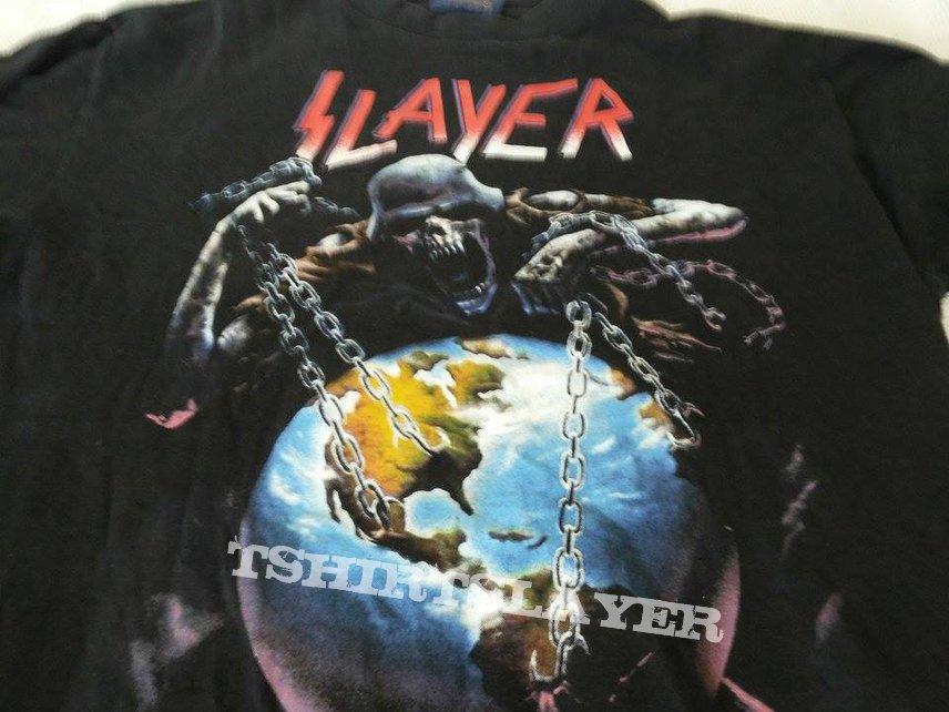Slayer original tour shirt