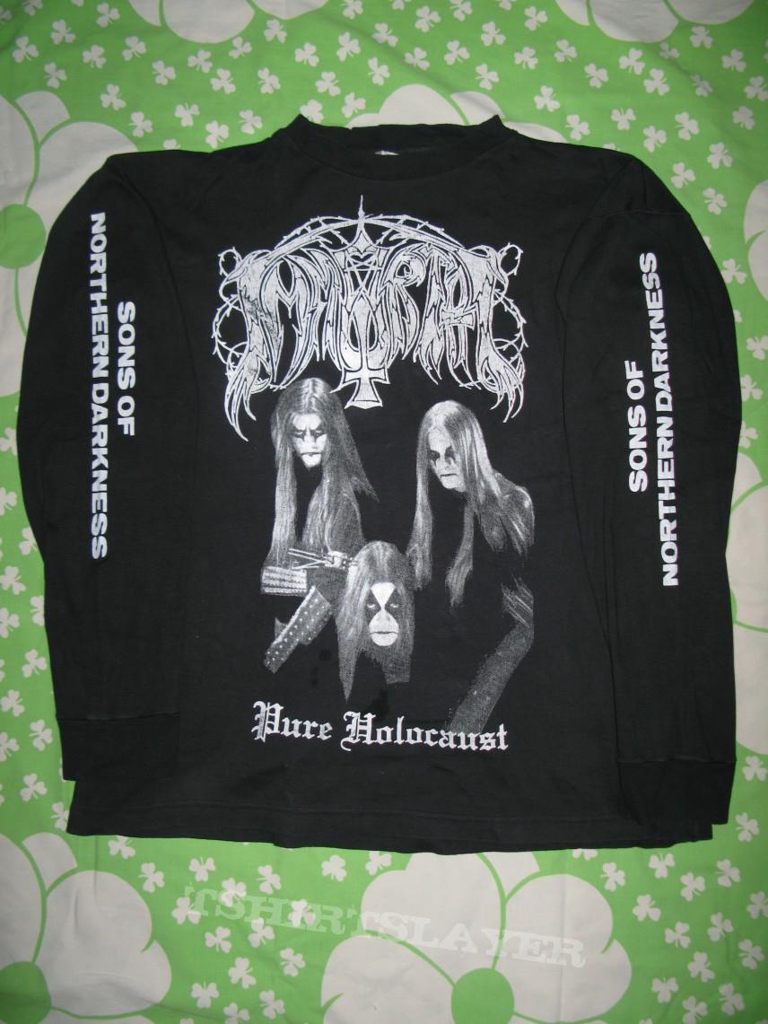 Immortal - Pure Holocaust original longsleeve shirt | TShirtSlayer TShirt and BattleJacket Gallery