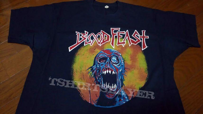 BLOOD FEAST - 1987 Face Fate Original in XL !