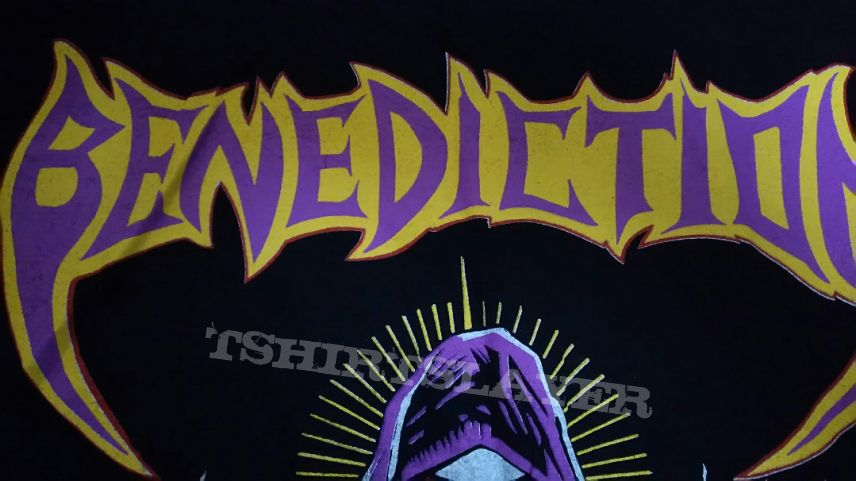 SOLD Benediction - 1993 `s World Violation Long Sleeve in XL. Sell