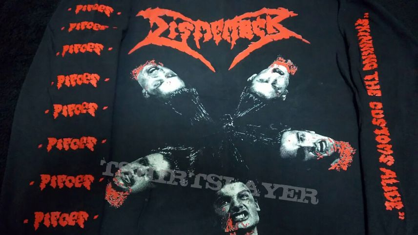 - SOLD - Dismember - 1992 `s  Pieces Long Sleeve in XL size. Sell