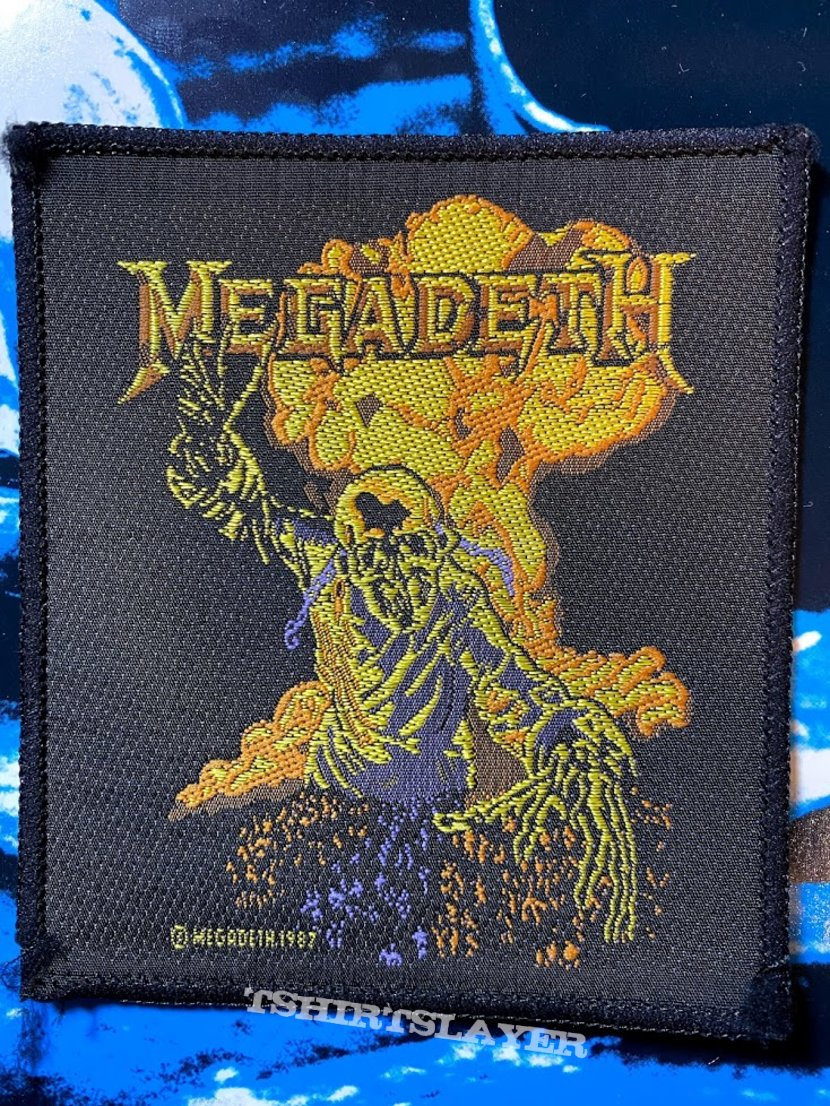 Megadeth 1987 Patch