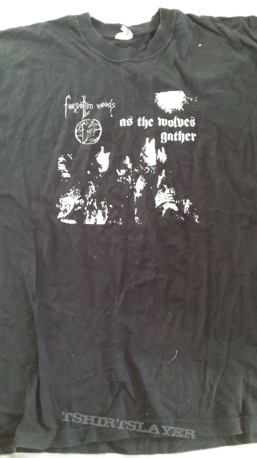 Forgotten Woods-As the Wolves Gather shirt