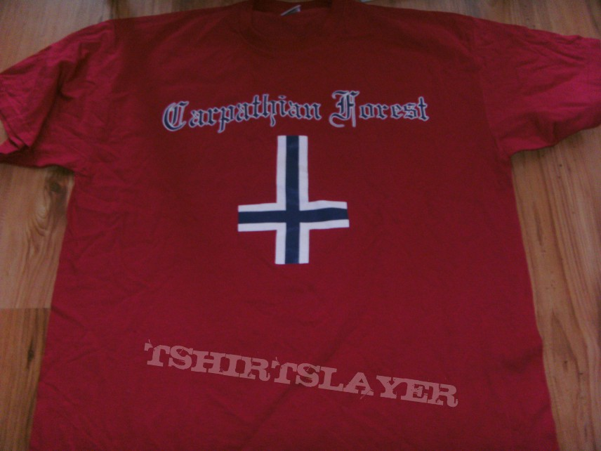 Carpathian Forest red shirt