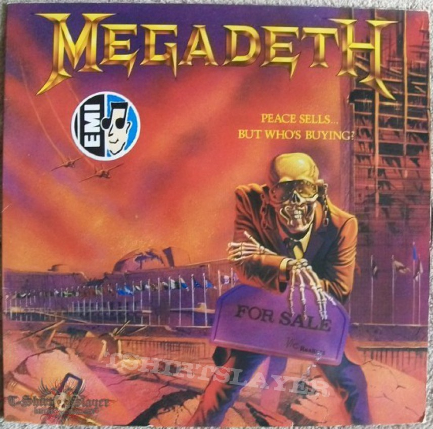 """Other Collectable - Megadeth """"Peace Sells... But Who's Buying?"""""""